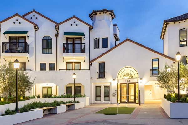 Cotton's point senior apartments exterior view