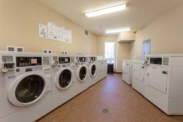 Cotton's point senior apartments laundry